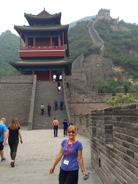"Nadine Tolman recently hiked with her husband to the far sentry post of the Great Wall of China — two hours there and two hours back — during a May 2018 trip she described as ""exhilarating."" The world-traveling Tolmans have also vacationed in Italy, France, New Zealand, Thailand, Croatia (twice), Israel, Bosnia, Russia, and Vietnam."