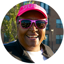 Ann Smith, Raleigh, was team DCI's top fundraiser in 2015.