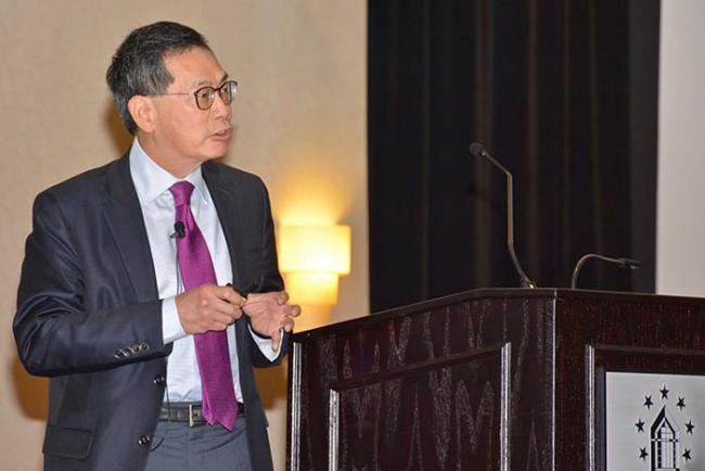 2018 keynote speaker Chi Van Dang, MD, PhD, scientific director for the Ludwig Institute for Cancer Research, educated symposium-goers about the importance of cancer metabolism.