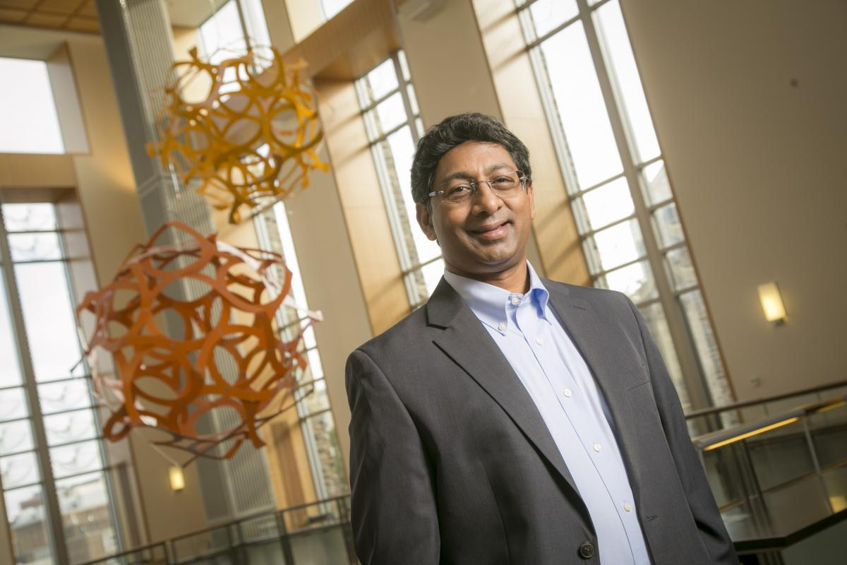 Ravi Bellamkonda, Vinik Dean of the Pratt School of Engineering at Duke University.