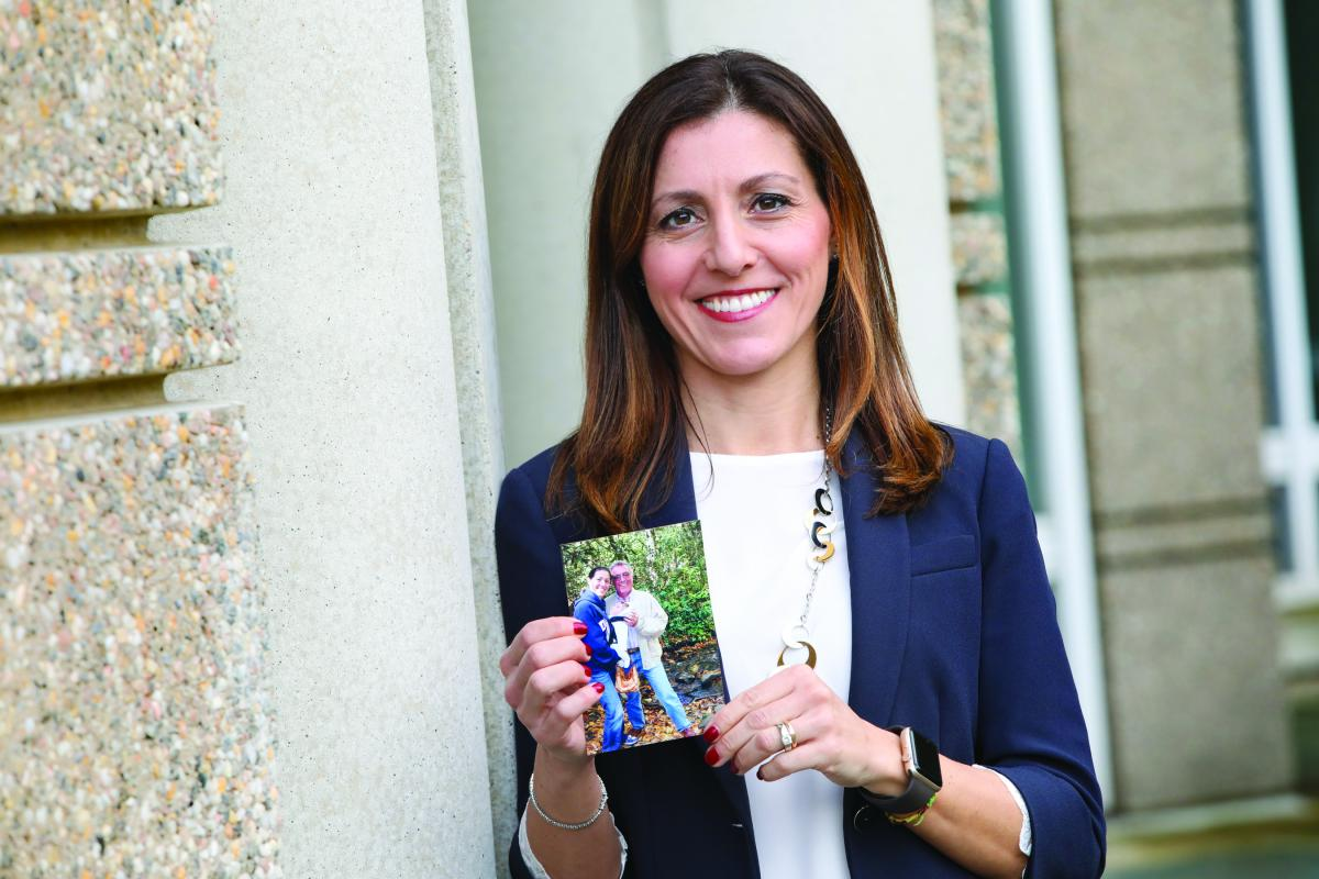 Cardiologist CHIARA MELLONI became interested in the emerging field of cardiooncology—the intersection of heart disease and cancer—after her father developed heartproblems in the midst of being treated for lung cancer.