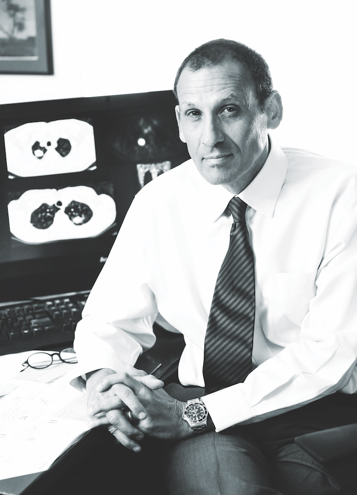 Edward Patz, Jr., MD (photo by Ken Huth)