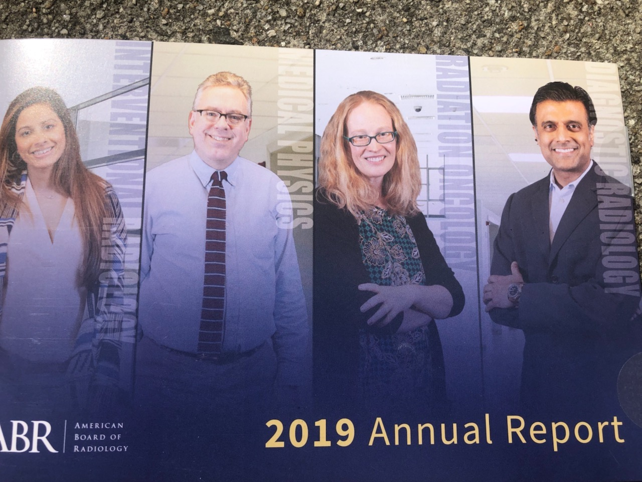 Bridget Koontz  in American Board of Radiology's 2019 Annual Report