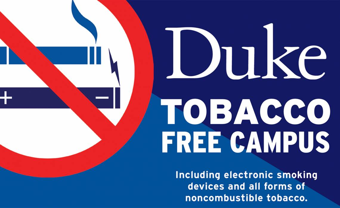 Duke Tobacco Free Campus