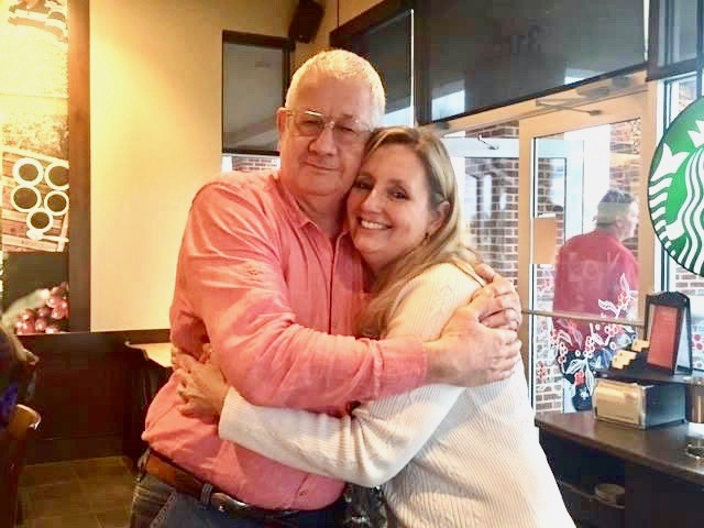 Friends Jack Walker and Tina Escalona, often meet up for coffee. They have supported each other through their cancer journeys and believe it's their mission to help others with the disease.