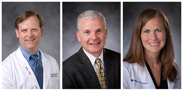 P. Kelly Marcom, MD; Donald McDonnell, PhD; and Stacy Telloni, MD, PhD