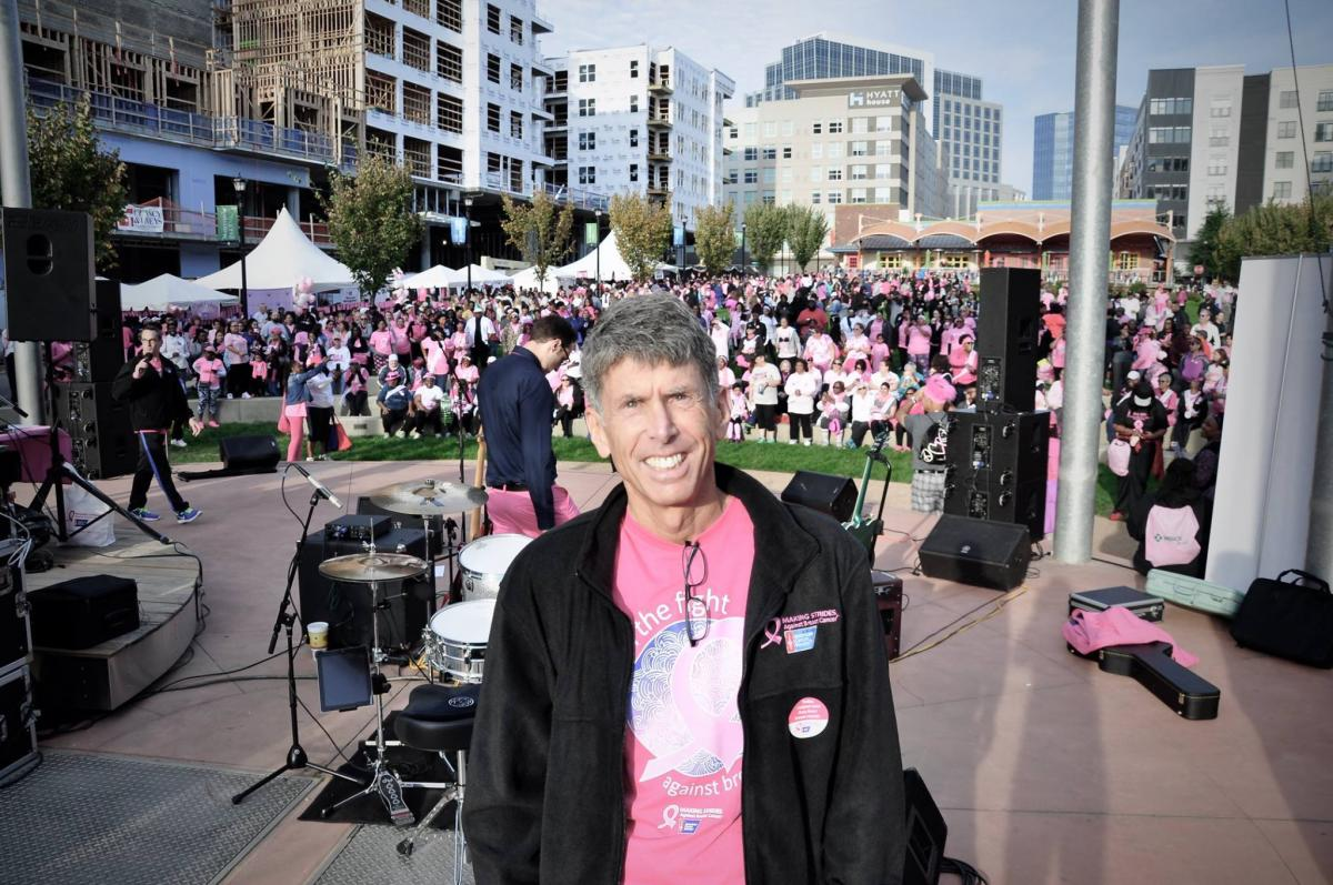 Michael Spiritos, MD, captained team Duke Women's Cancer Care Raleigh at Making Strides-Raleigh. DCI was local presenting sponsor.
