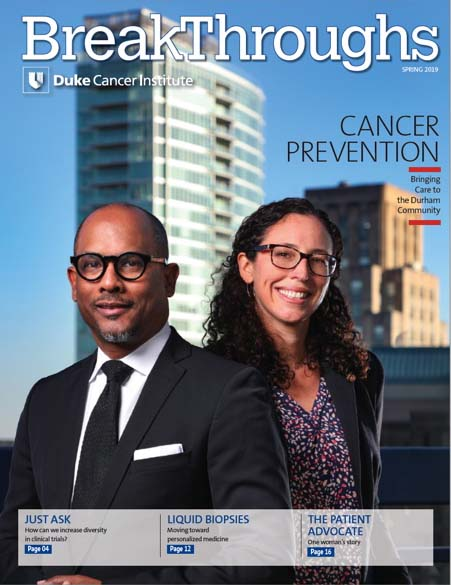 Breakthroughs Magazine | Duke Cancer Institute