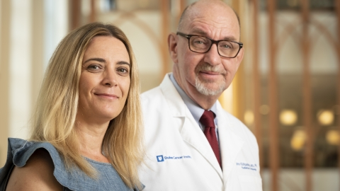 Natalie Ashley and John Kirkpatrick, MD, PhD