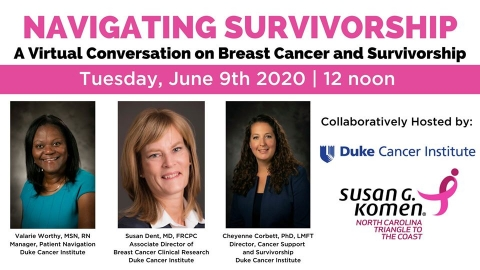 DCI Komen Navigating Survivorship ad