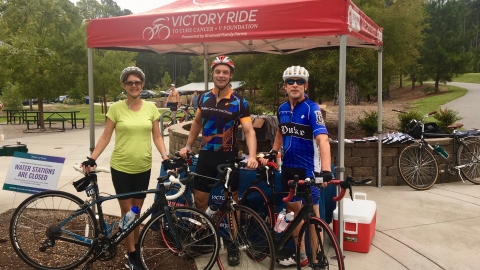 DCI Doctors David Brizel and Daniel George Saddle up for V Ride 2020