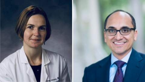 Hope Uronis, MD, and Yousuf Zafar, MD