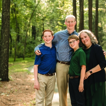Melanoma Survivor Stephen Totty and his family
