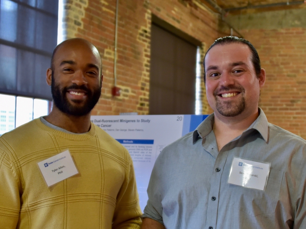 Tyler Allen, PhD, and Sean Piwarski, PhD
