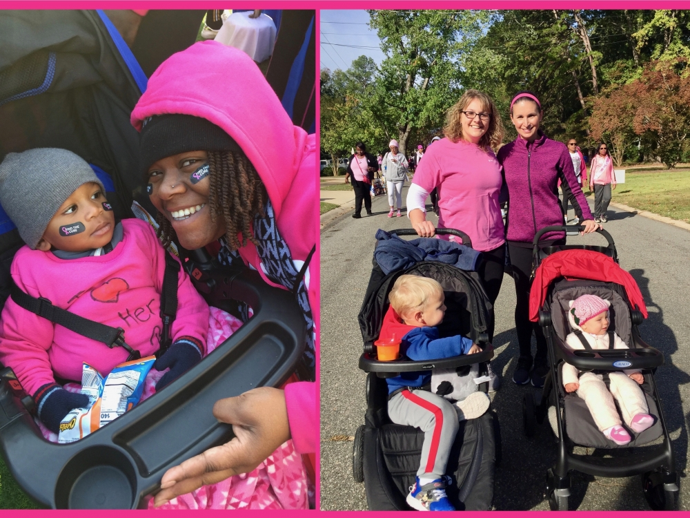 strolling through Making Strides