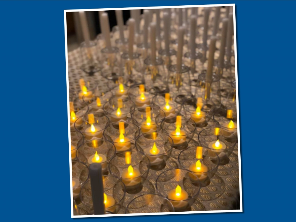Tree of Hope candles