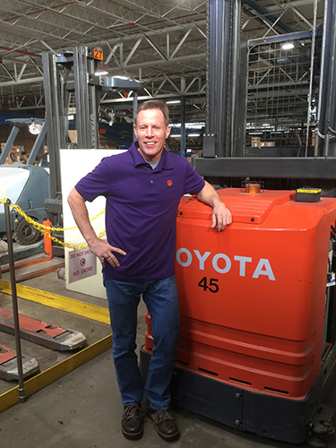 Colorectal cancer survivor Tom Vibert is an industrial engineer with Kayser-Roth, one of the largest legwear companies in the U.S. In his fight against cancer, he employed some of the same successful strategies he uses on the job.