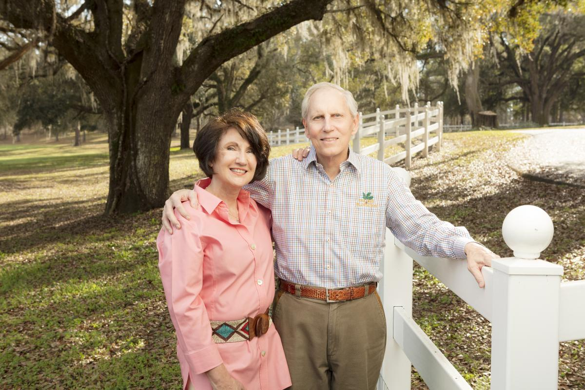 "TK WETHERELL, PhD, former president of Florida State University, says his prostate cancer care from Dan George, MD, means he can keep teaching classes at Florida State and spending time on his 1,200 acre farm with his wife, Ginger. ""I'm still on this side of the dirt, so that means I'm doing pretty good as far as I'm concerned,"" he says. ""I can get around and ride my tractor and burn fields and do stuff that I like to do. I don't do quite as much as I used to, but compared to what a lot of people are doing at my stage in life, it's not that bad."" (photo by Scott Holstein)"
