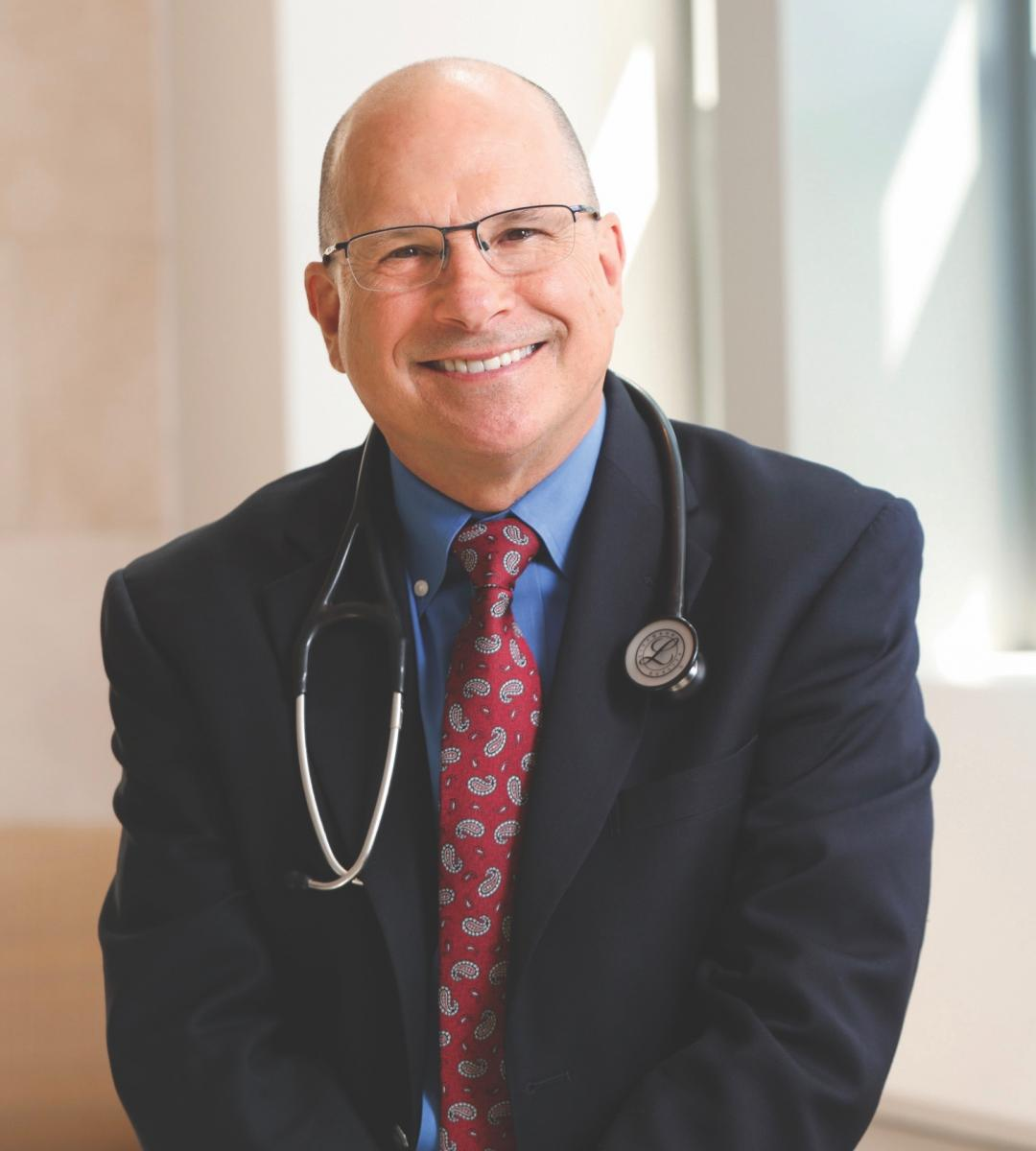 """Primary care physicians are used to looking at a patient on a continuum. With cancer patients, they often lose the whole story."" -- KEVIN OEFFINGER, MD (photo by Ken Huth)"