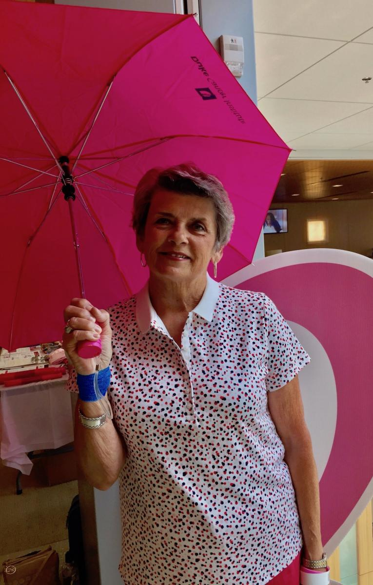 Grandmother-of-three and breast cancer survivor, Carolyn Watson