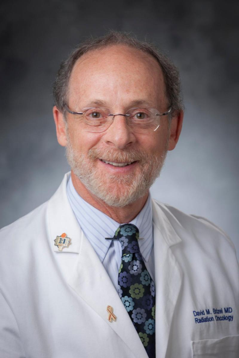 David Brizel, MD, co-director of the Duke Cancer Institute Head and Neck Cancer Program