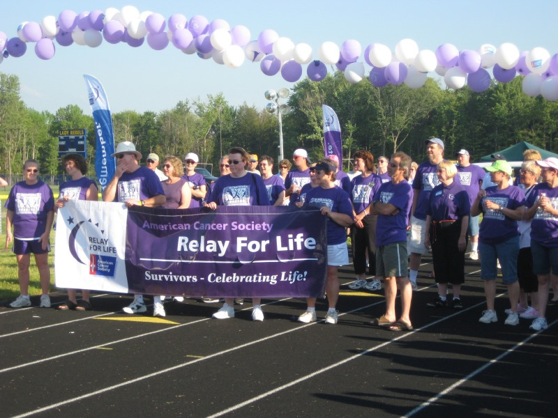 Ellen Parks at Relay for Life