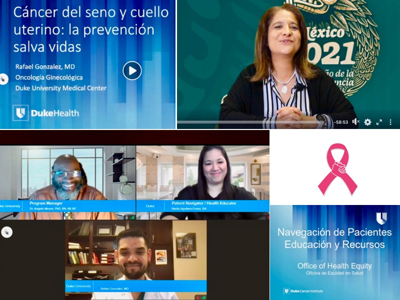 DCI OHE & Mexican Consulate event on breast and cervical cancer