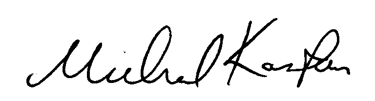 Michael Kastan signature
