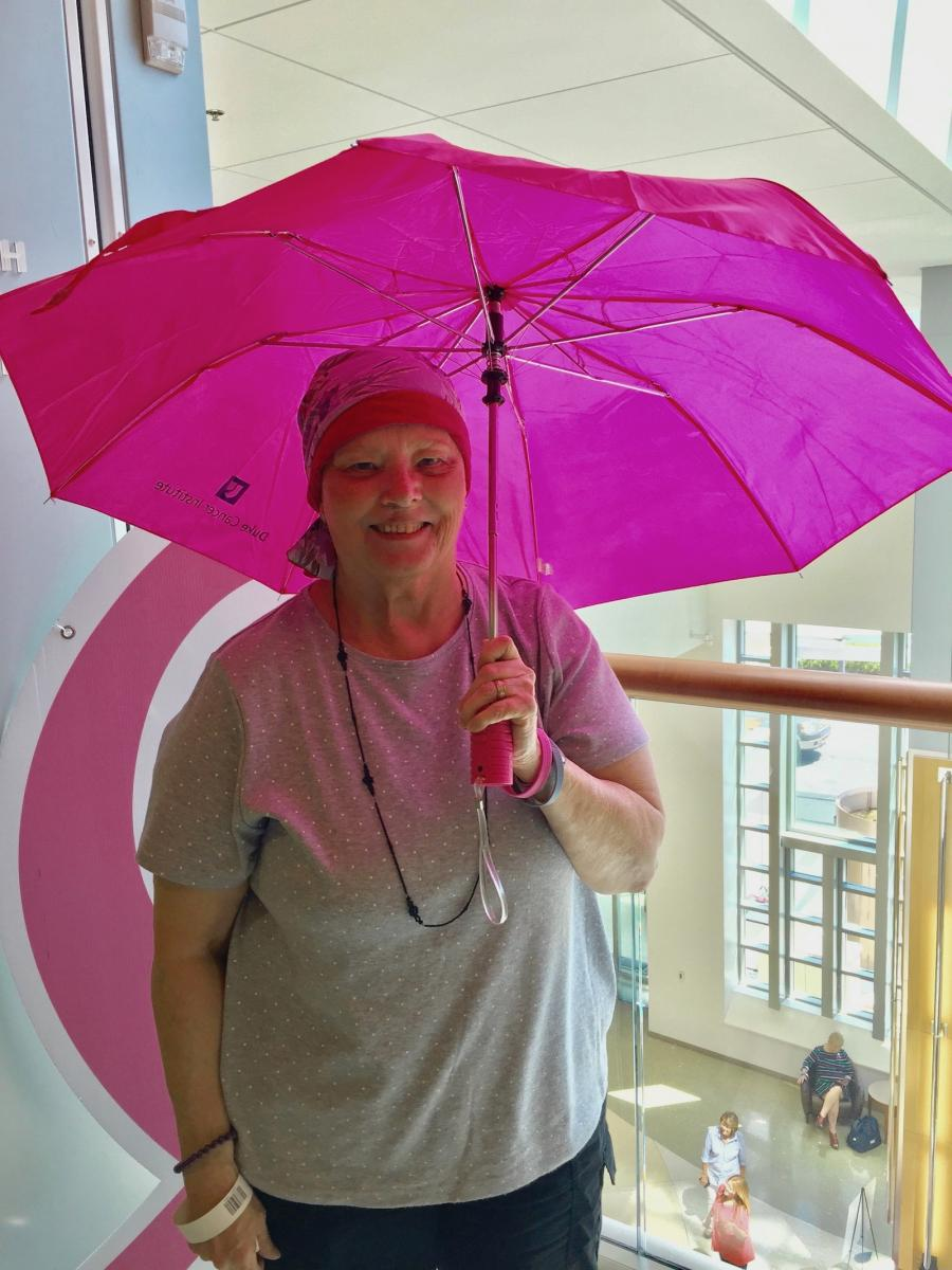 Kirsten Schiavone, breast cancer survivor and grandmother of 2.
