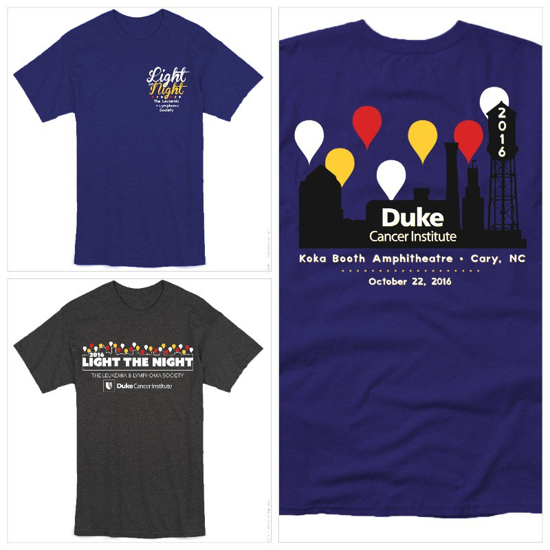 To purchase tees, contact nicole.kenney@duke.edu.