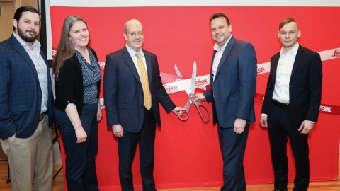 Ribbon Cutting Leica