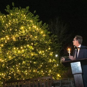 Ben Weast Tree Of Hope Lighting