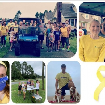 Strike Out for Sarcoma collage
