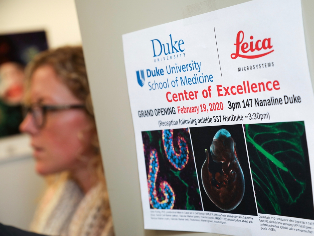 Duke and Leica Center of Excellence flyer