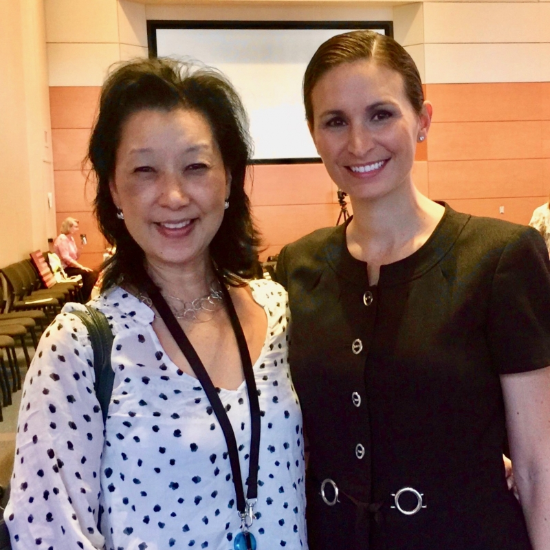 Dr. Shelley Hwang and Dr. Jennifer Plichta