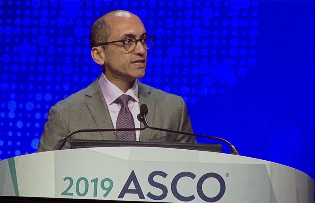 Yousuf Zafar, MD, MA, one of three plenary discussants at ASCO